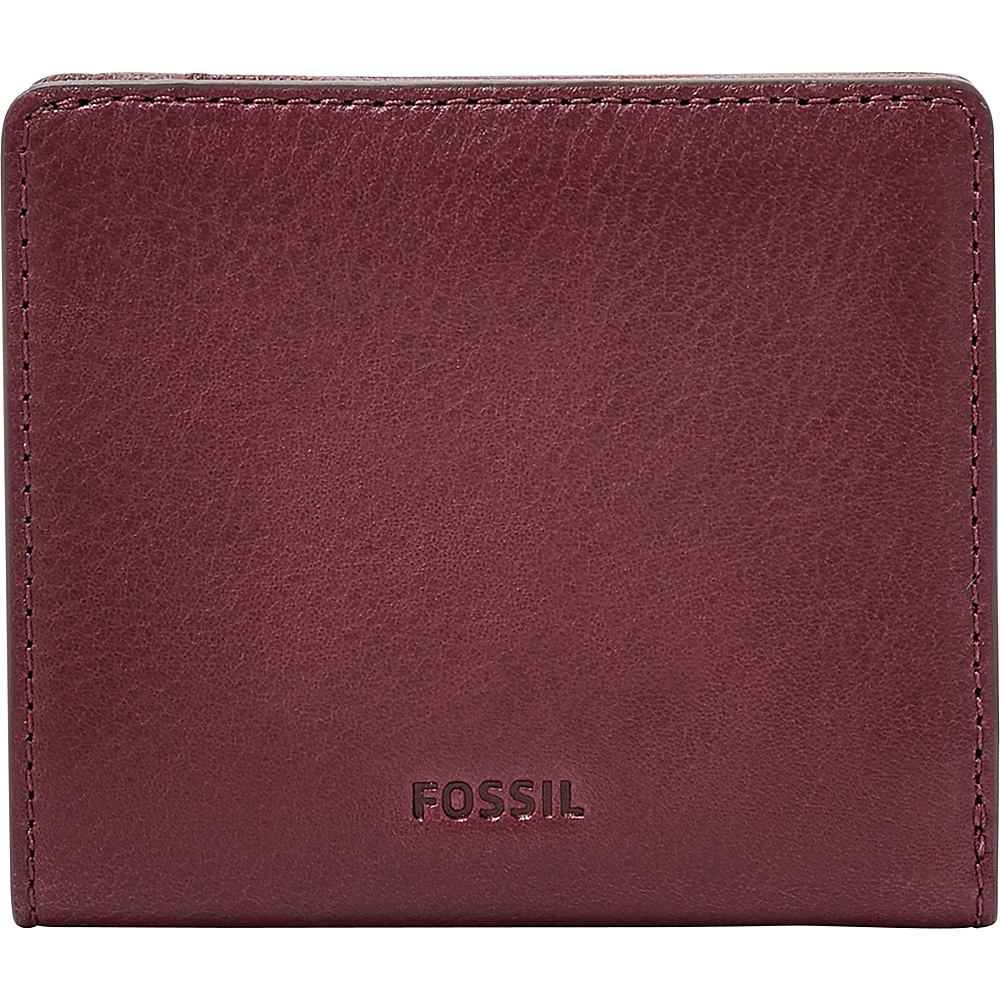 Fossil Emma RFID Mini Wallet Cabernet - Fossil Womens Wallets - Women's SLG, Women's Wallets