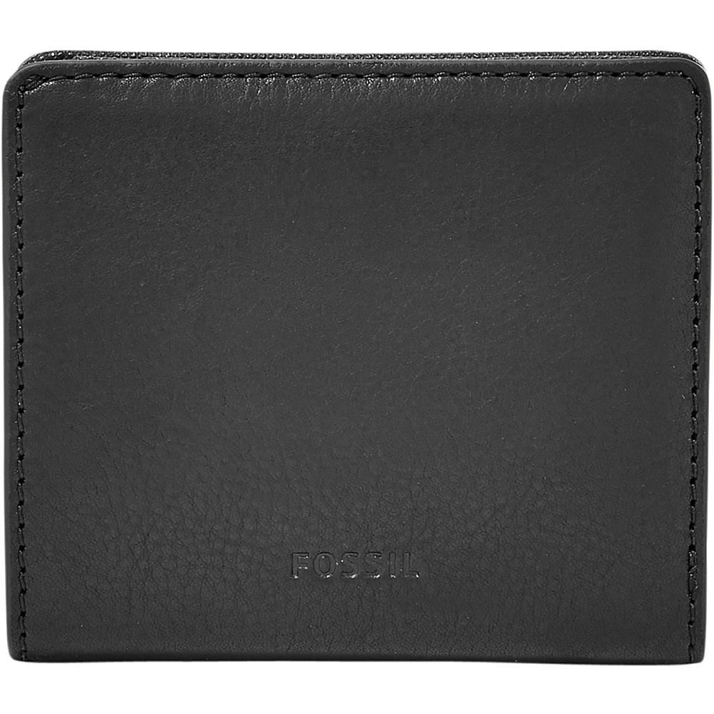 Fossil Emma RFID Mini Wallet Black - Fossil Designer Handbags - Handbags, Designer Handbags