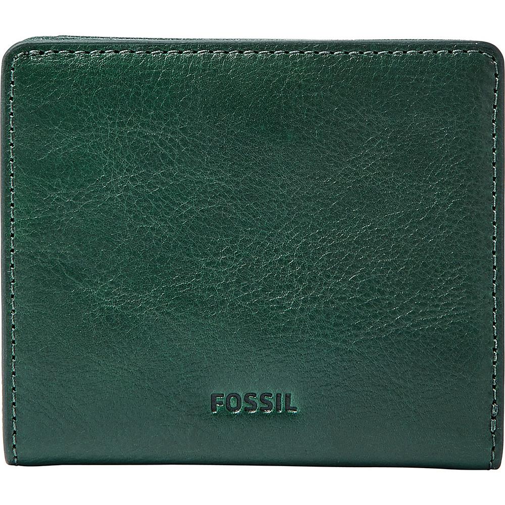 Fossil Emma RFID Mini Wallet Alpine Green - Fossil Womens Wallets - Women's SLG, Women's Wallets