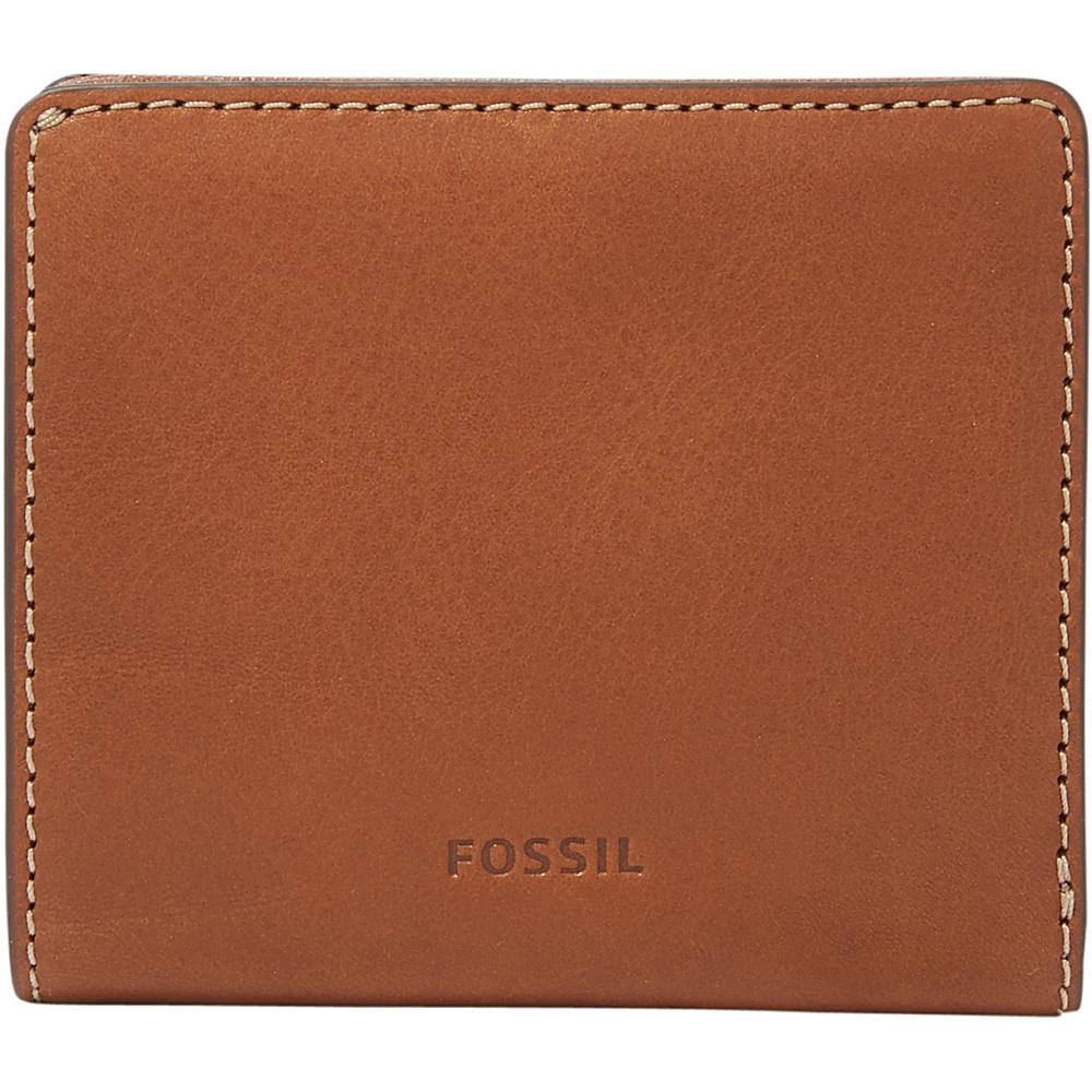 Fossil Emma RFID Mini Wallet Brown - Fossil Designer Handbags - Handbags, Designer Handbags