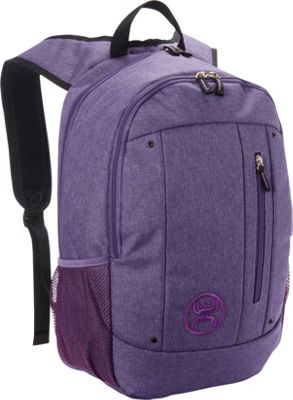 Hooey Textured Laptop Backpack Purple - Hooey Business & Laptop Backpacks