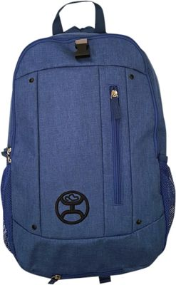 Hooey Textured Laptop Backpack Royal Blue - Hooey Business & Laptop Backpacks