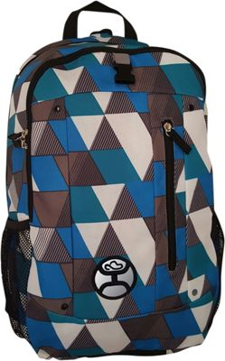 Hooey Textured Laptop Backpack Blue - Hooey Business & Laptop Backpacks