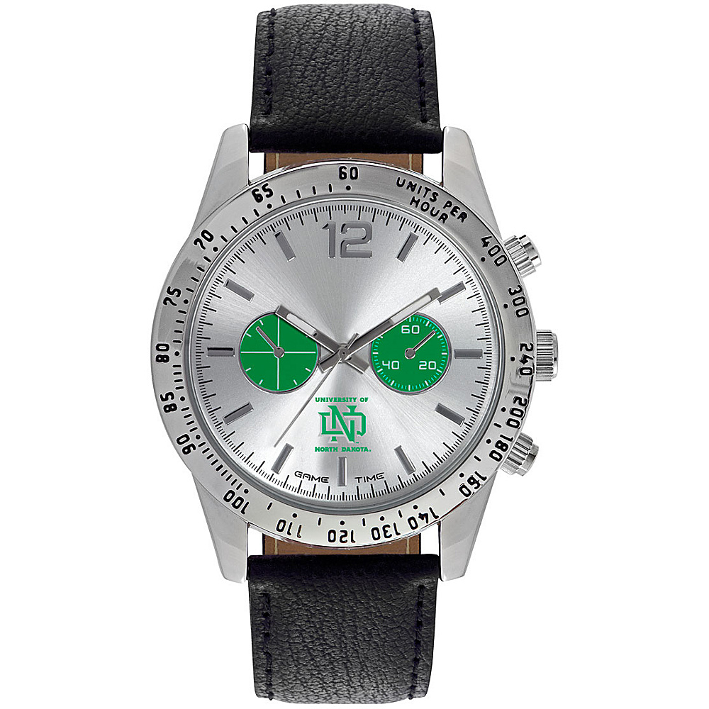Game Time Mens Letterman-College Watch University Of North Dakota - Game Time Watches