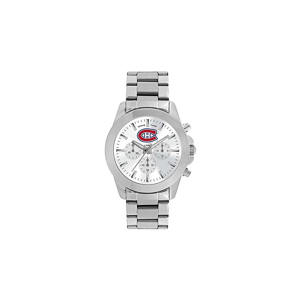 Game Time Womens Knockout-NHL Watch Montreal Canadiens - Game Time Watches - Fashion Accessories, Watches