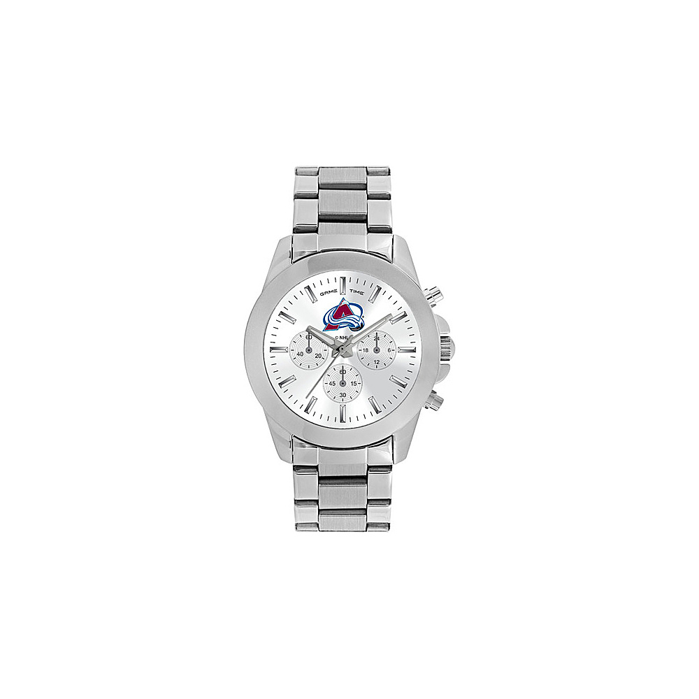 Game Time Womens Knockout-NHL Watch Colorado Avalanche - Game Time Watches - Fashion Accessories, Watches