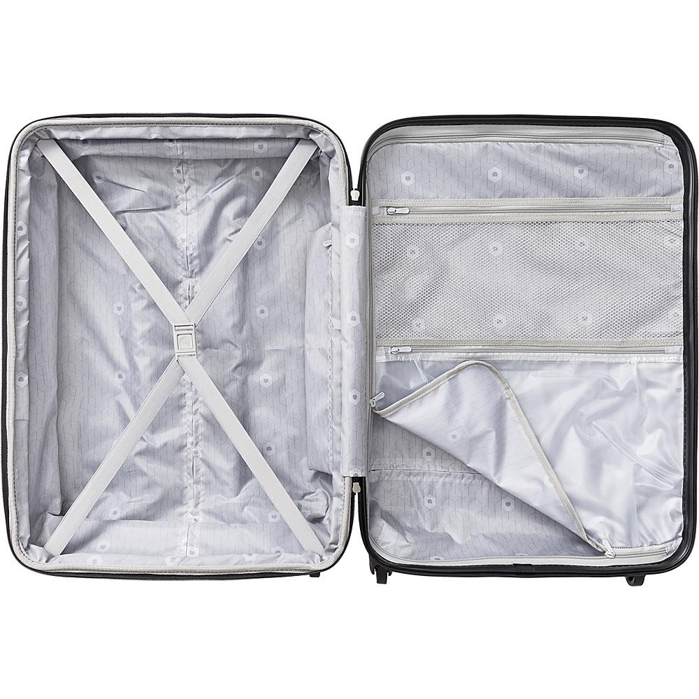 Delsey Comte 3 Piece Expandable Hardside Luggage Set Black - Delsey Luggage Sets