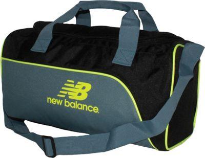 New Balance Training Day Duffel- Small Black/Riptide - New Balance Gym Duffels