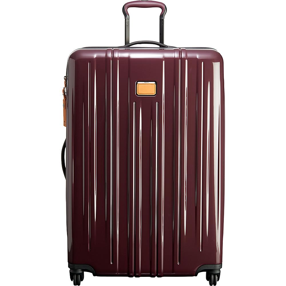 Tumi V3 Extended Trip Packing Case Merlot - Tumi Hardside Luggage