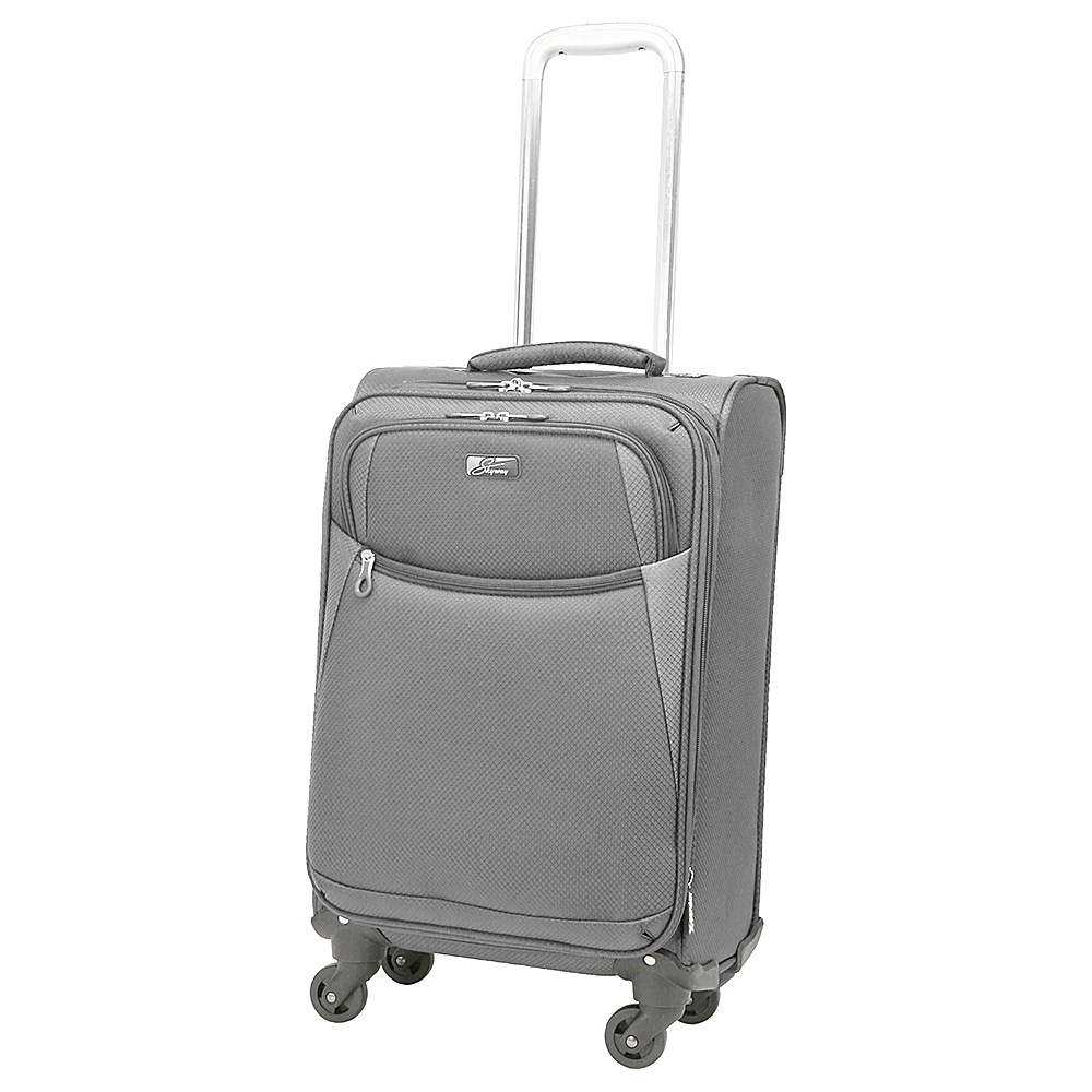 Skyway Encinitas 20 4 Wheel Carry On Exclusive Charcoal Skyway Softside Carry On