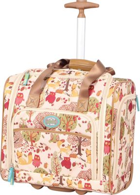 Lily Bloom Under The Seat Bag Forest Owl - Lily Bloom Softside Carry-On