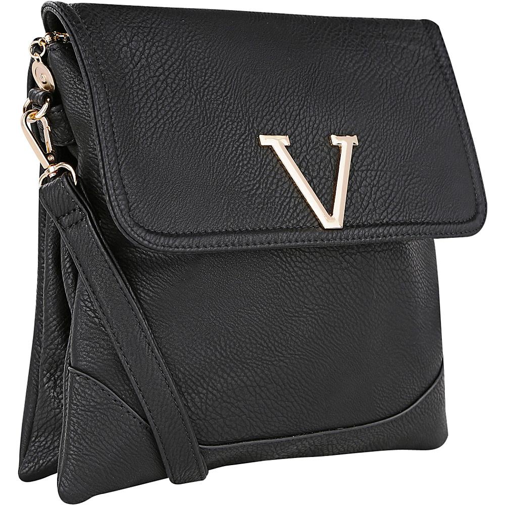 MKF Collection Morgan Crossbody Bag Black - MKF Collection Fabric Handbags - Handbags, Fabric Handbags