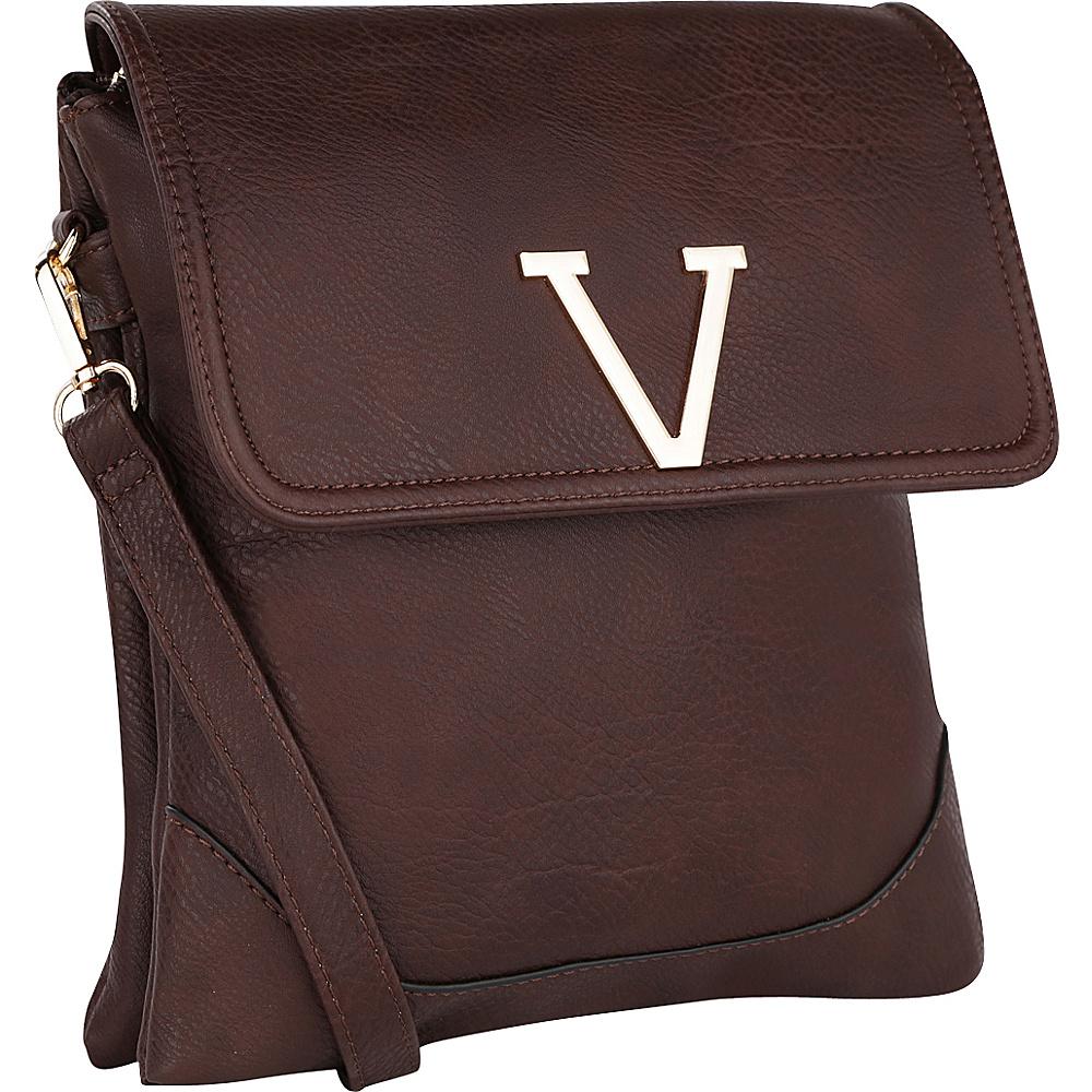 MKF Collection Morgan Crossbody Bag Coffee - MKF Collection Fabric Handbags - Handbags, Fabric Handbags