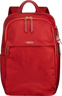 Tumi Voyageur Daniella Small Backpack Crimson - Tumi Designer Handbags