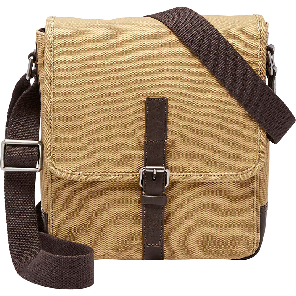 Fossil Davis NS City Shoulder Bag Khaki - Fossil Other Mens Bags - Work Bags & Briefcases, Other Men's Bags