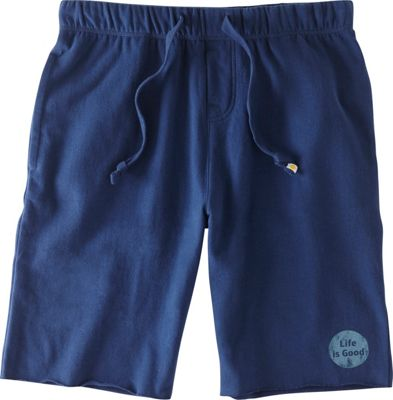 Life is good Mens Lounge Short S - Darkest Blue - Life is good Men's Apparel