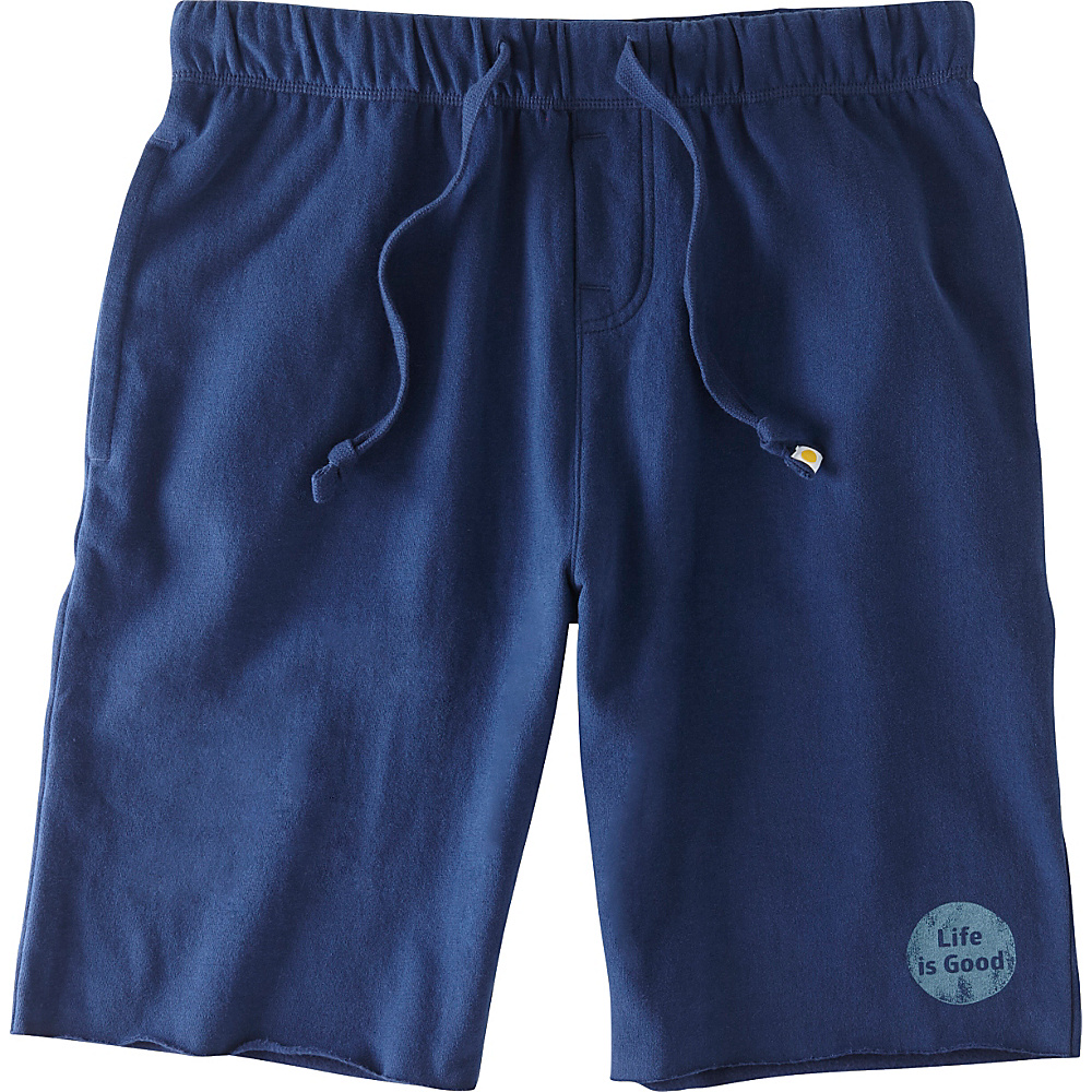 Life is good Mens Lounge Short L Darkest Blue Life is good Men s Apparel