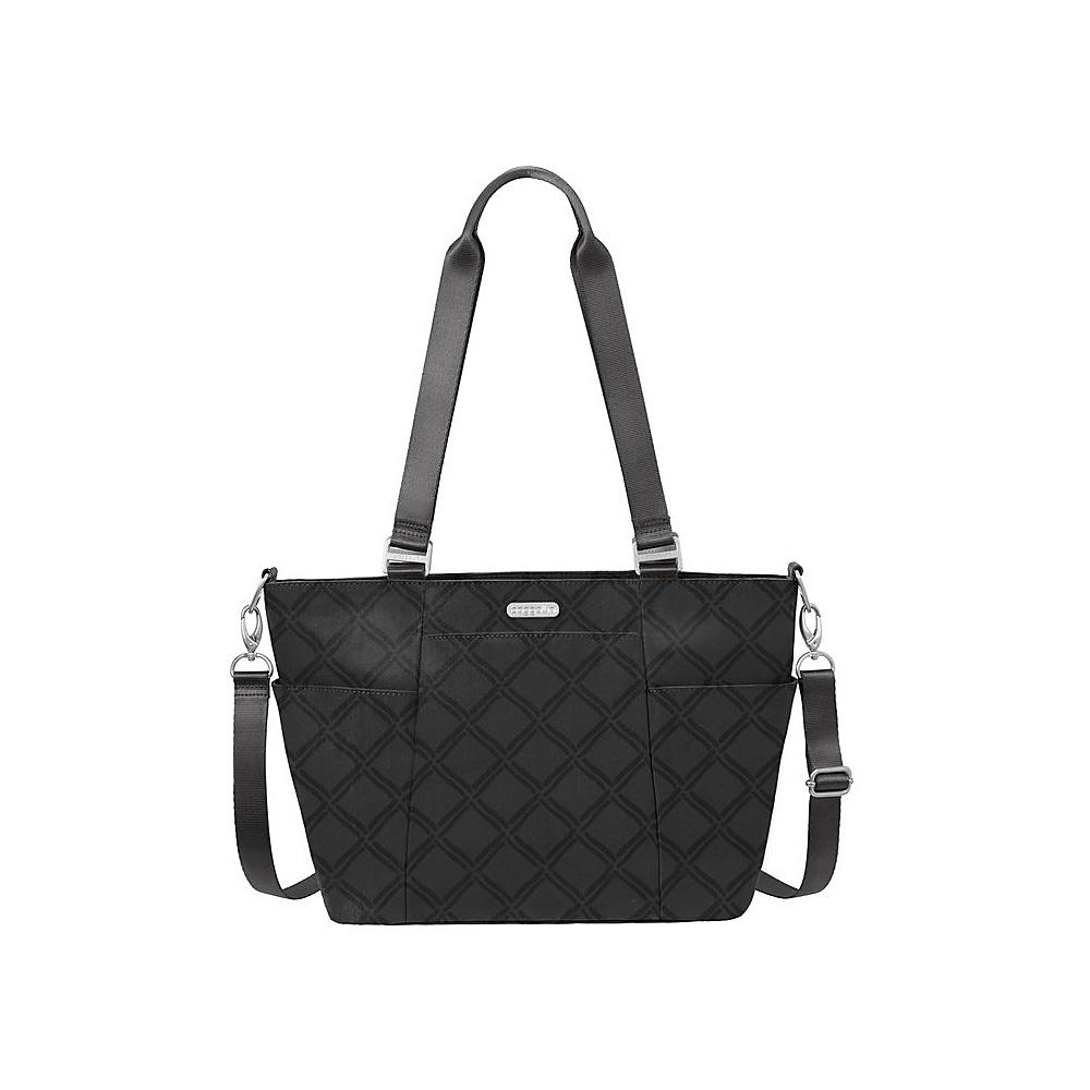 baggallini Medium Avenue Tote Charcoal Link - baggallini Fabric Handbags - Handbags, Fabric Handbags