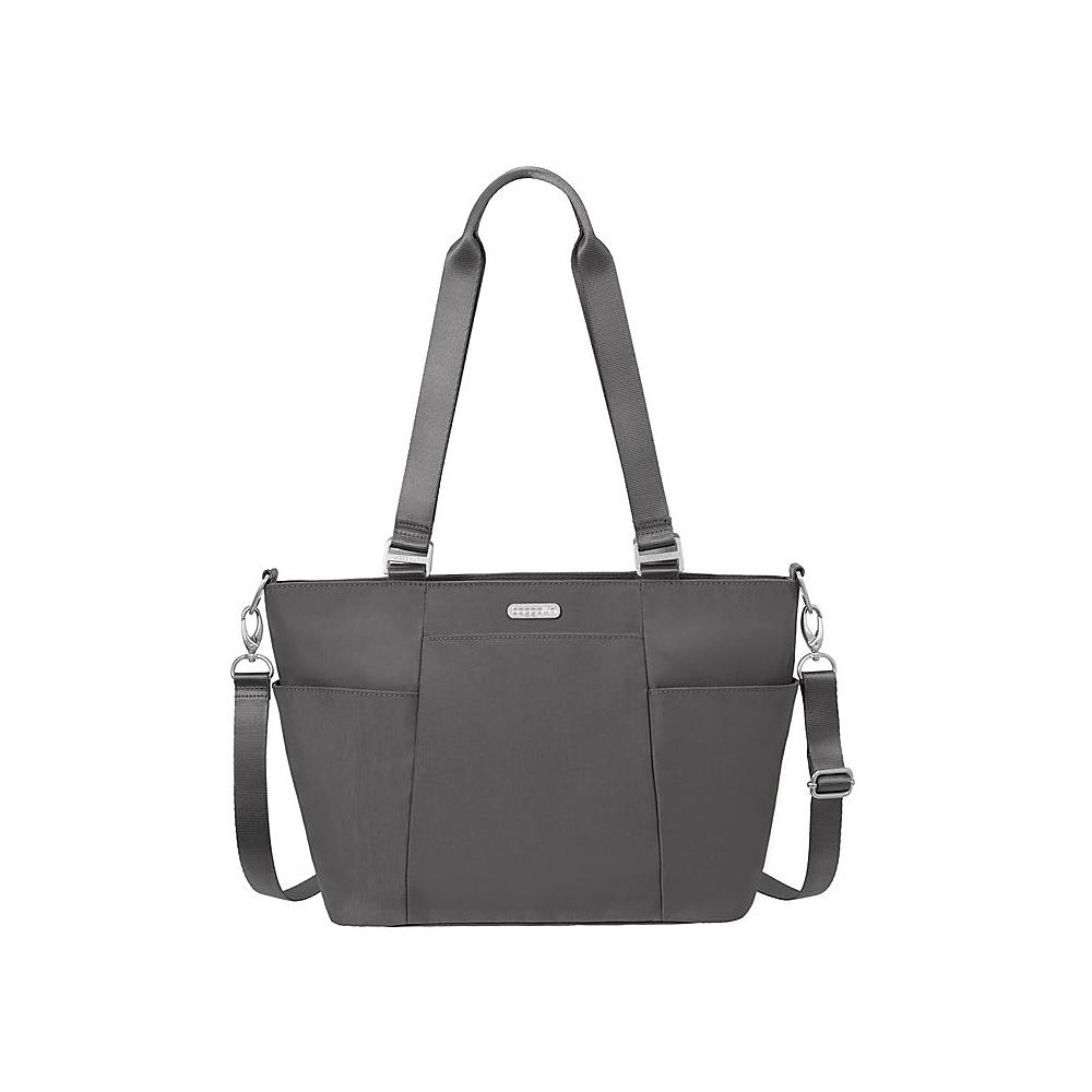 baggallini Medium Avenue Tote Charcoal - baggallini Fabric Handbags - Handbags, Fabric Handbags