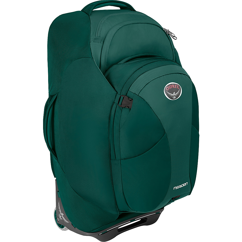 Osprey Meridian 75L/28 Checked Luggage Rainforest Green - Osprey Softside Checked - Luggage, Softside Checked