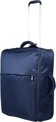 Lipault Paris 0% Pliable Upright 65/24 Navy - Lipault Paris Softside Checked