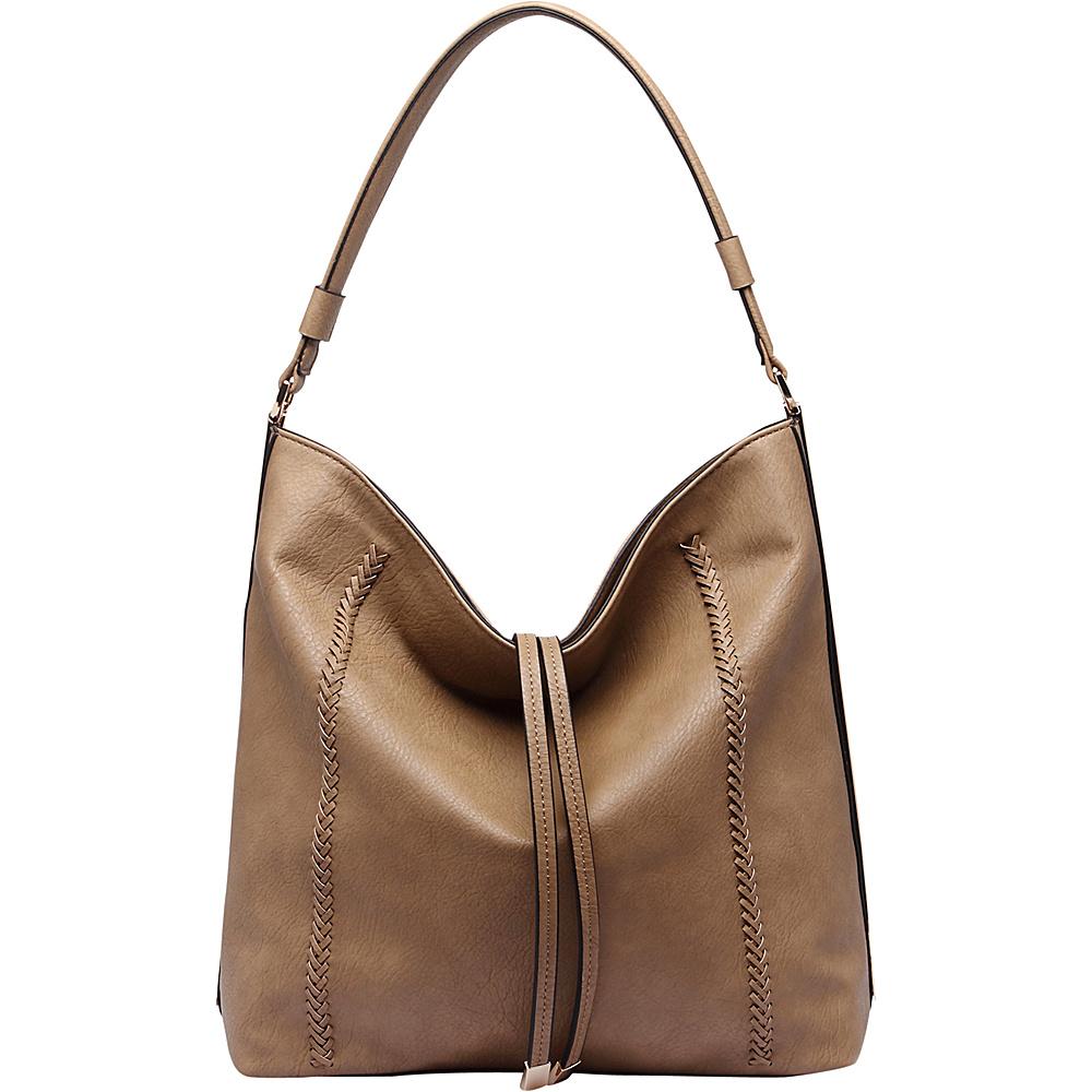 MKF Collection Apple Shoulder Handbag Khaki - MKF Collection Manmade Handbags - Handbags, Manmade Handbags
