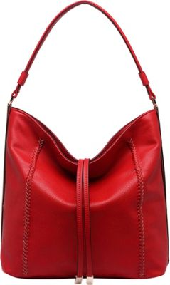 MKF Collection by Mia K. Farrow Apple Shoulder Handbag Red - MKF Collection by Mia K. Farrow Gym Bags
