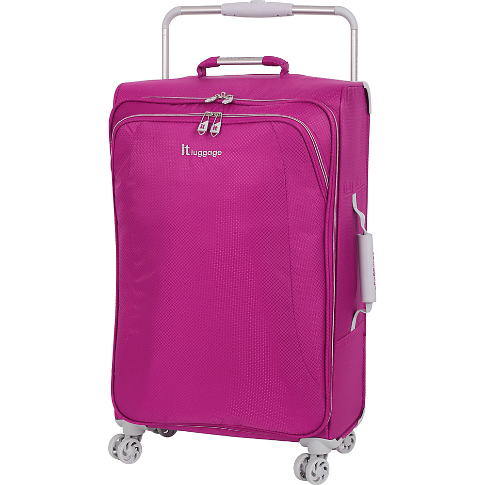 it luggage World s Lightest 8 Wheel Spinner 27.6 Baton Rouge it luggage Softside Checked