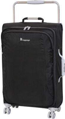 it luggage World's Lightest 8 Wheel Spinner 27.6 RAVEN - it luggage Softside Checked