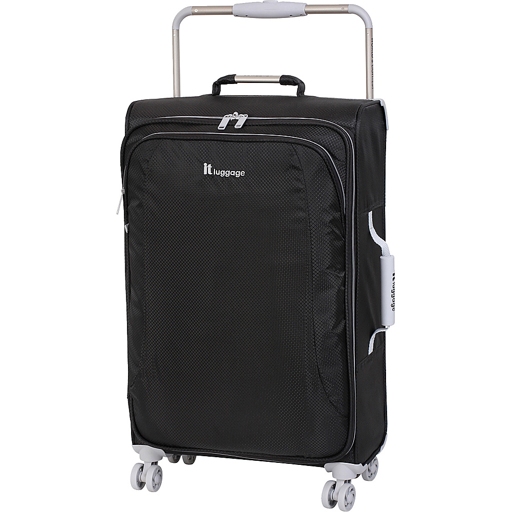it luggage World s Lightest 8 Wheel Spinner 27.6 RAVEN it luggage Softside Checked
