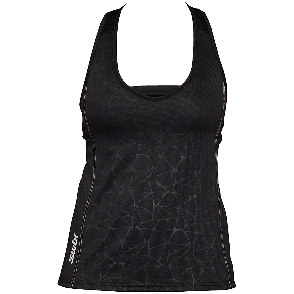 Swix Womens Stadion Basic Tank L Black Swix Women s Apparel