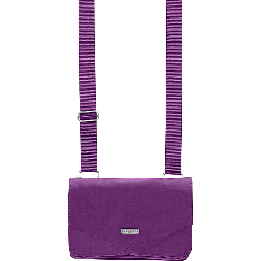 baggallini Venture Crossbody - Retired Colors Violet - baggallini Fabric Handbags - Handbags, Fabric Handbags