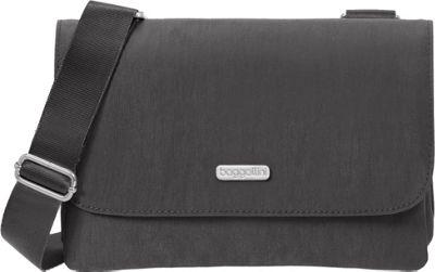 baggallini Venture Crossbody - Retired Colors Charcoal - baggallini Fabric Handbags