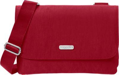 baggallini Venture Crossbody - Retired Colors Apple - baggallini Fabric Handbags