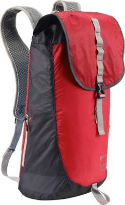 Lewis N. Clark ElectroLight Day Pack Red/Charcoal - Lewis N. Clark Day Hiking Backpacks