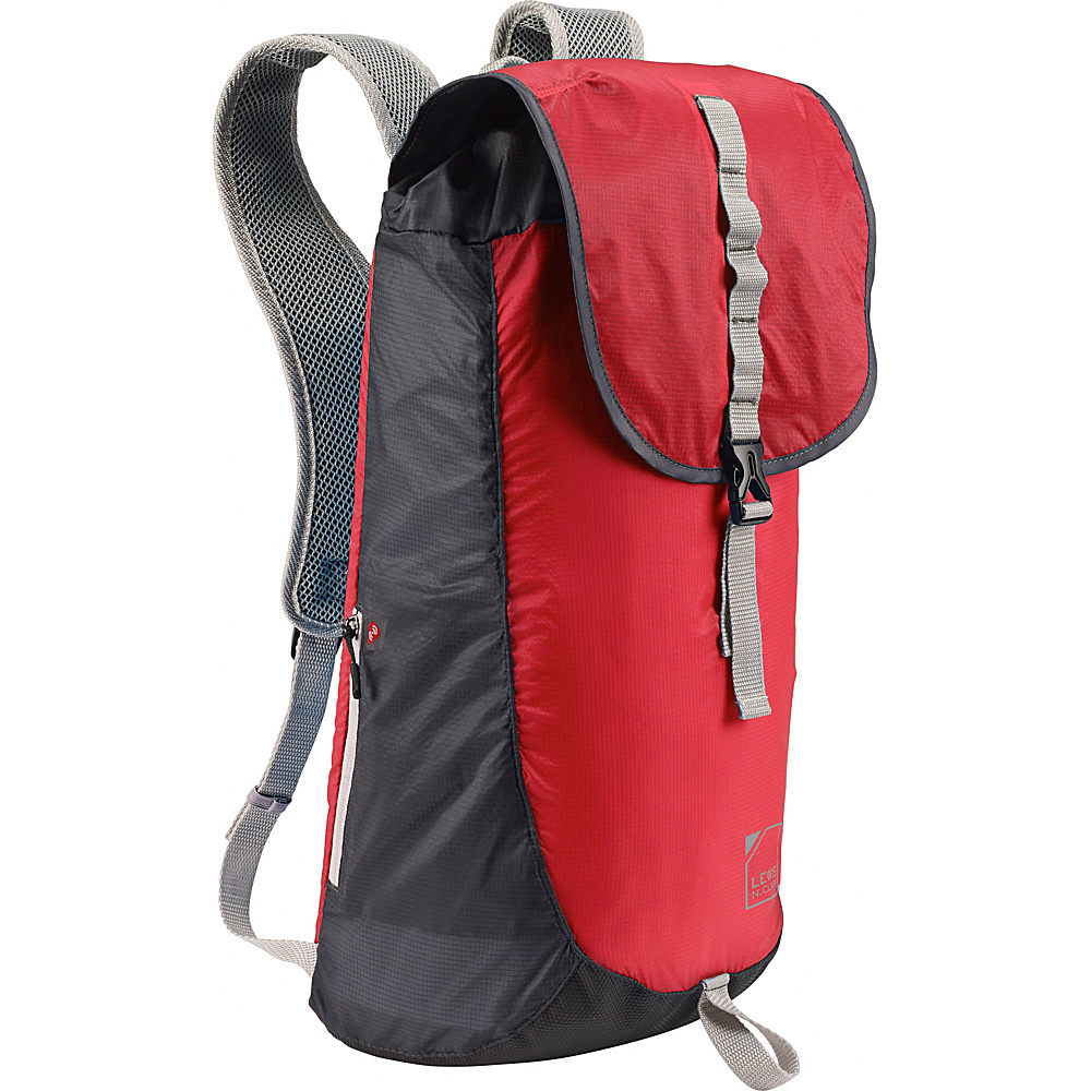 Lewis N. Clark ElectroLight Day Pack Red Charcoal Lewis N. Clark Day Hiking Backpacks
