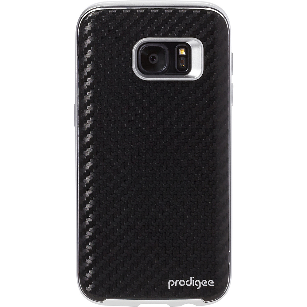 Prodigee Trim Case for Samsung S7 Carbon Black Prodigee Electronic Cases