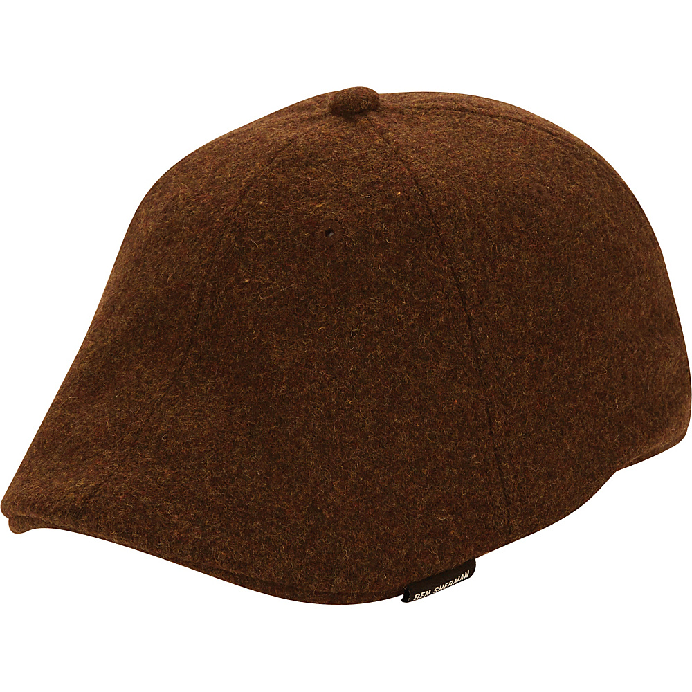 Ben Sherman Core Open Back Driver Hat Brown - S/M - Ben Sherman Hats/Gloves/Scarves