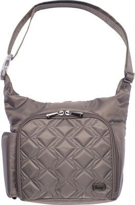 Lug Sidecar Shoulder Bag Walnut Brown - Lug Fabric Handbags