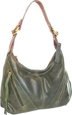 Nino Bossi Daisy Paradise Shoulder Bag Pine - Nino Bossi Leather Handbags