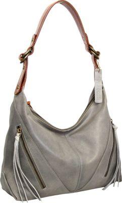 Nino Bossi Daisy Paradise Shoulder Bag Stone - Nino Bossi Leather Handbags