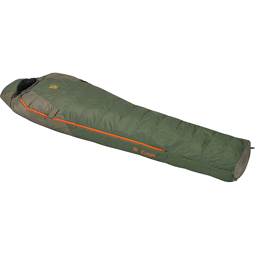 Slumberjack Lapland 0 Degree Long Hybrid Dual Zipper Two Tone Green Slumberjack Outdoor Accessories