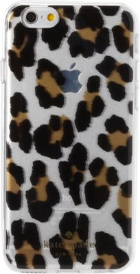 kate spade new york iPhone 6 Case - Leopard Clear Multi - kate spade new york Personal Electronic Cases