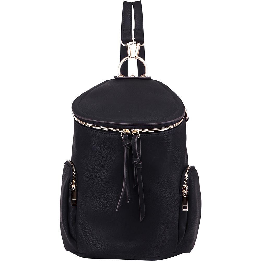 MKF Collection Elegant Back To School Backpack Black - MKF Collection Everyday Backpacks - Backpacks, Everyday Backpacks