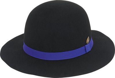 Adora Hats Wool Felt Short Floppy Hat One Size - Black - Adora Hats Hats/Gloves/Scarves
