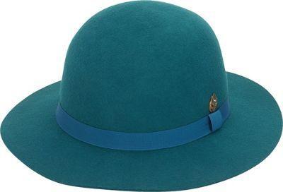 Adora Hats Wool Felt Short Floppy Hat One Size - Teal - Adora Hats Hats/Gloves/Scarves