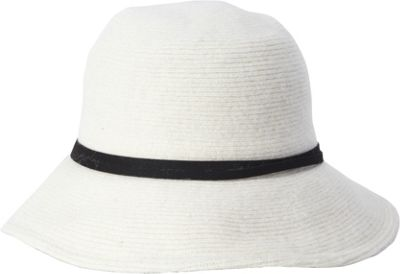 Adora Hats Wool Floppy Hat One Size - Ivory - Adora Hats Hats/Gloves/Scarves