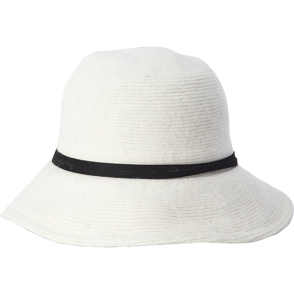 Adora Hats Wool Floppy Hat Ivory Adora Hats Hats Gloves Scarves