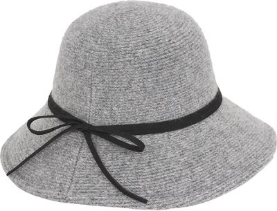 Adora Hats Wool Floppy Hat One Size - Grey - Adora Hats Hats/Gloves/Scarves