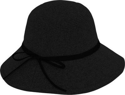 Adora Hats Wool Floppy Hat One Size - Black - Adora Hats Hats/Gloves/Scarves